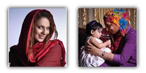 عکس زن ایرانی روشنک عجمیان