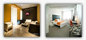 دکوراسیون مدرن داخلی یک هتل