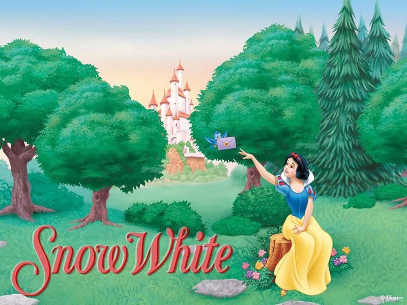 كارتون سفید برفی