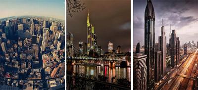 تصاویری از چشم انداز افق در زیباترین شهرهای دنیا
