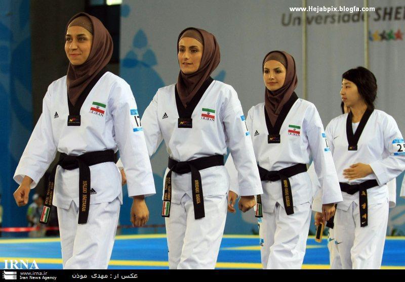 حجاب در ورزش بانوان