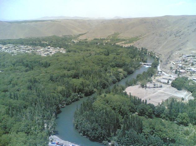 زاینده رود - مردادماه 1390