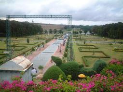 باغ برینداوان در شهر میسور