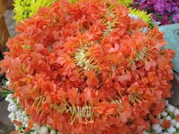 رشته های گل برای مراسم سنتی در هندوستان