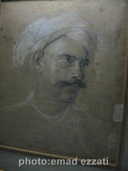 تصویر یکی از سرداران ارتش تیپوسلطان