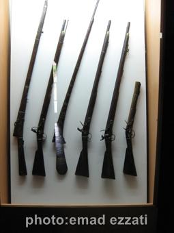 اسلحه های مورد استفاده در آن زمان