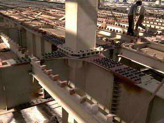 جزئیات اجرایی اسکلت فلزی 3 - گروه صنعتی پارسه سازهاسکلت فلزی