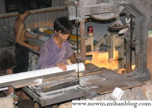 خط تولید دستمال چینی
