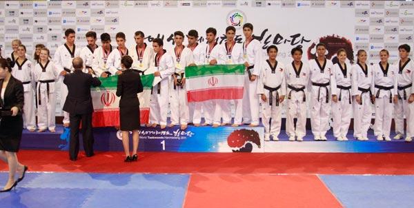 تیم ملی هان مادانگ ایران قهرمان جهان