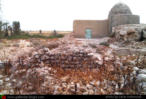 آرامگاه شاه ابوالوفا در روستای بهرستان