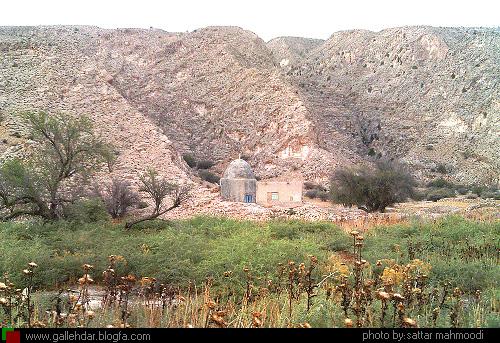 قبرستان نودان و بقعه شاه ابوالوفا- بهرستان