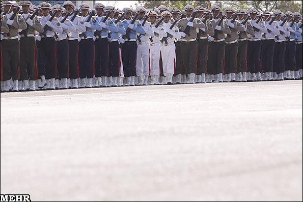 رژه نیروهای مسلح - iran army