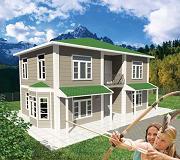 خانه پیش ساخته LSF