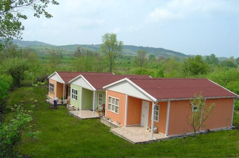 خانه پیش ساخته با سیستم SH
