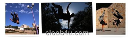 پارکور در تبریز - www.cloob4u.com