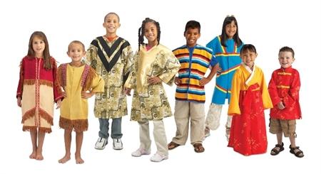 احترام به تفاوت های فرهنگی کودکان