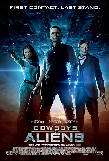 Cowboys and Aliens 2011 DVDRip 720p MKV AVI دانلود فیلم