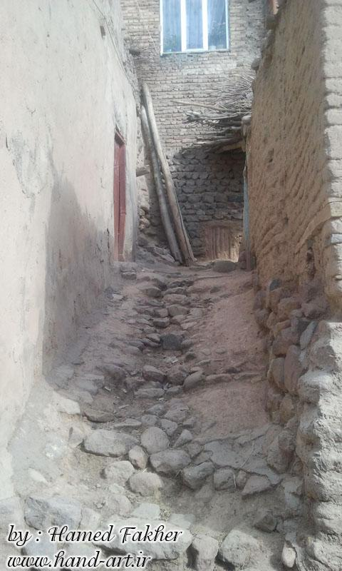 عکس از یکی از ده های اطراف منطقه عنصرود-آذربایجان شرقی