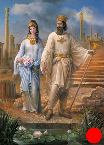 تصویر زن و مرد در دوران هخامنشی