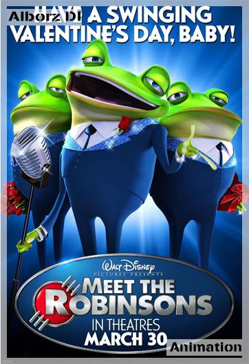 عکس   دانلود انیمیشن ملاقان با رابینسونها (Meet Thre Robinsons)