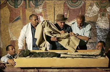 گروه باستان شناسی رامسس فرعون مصری