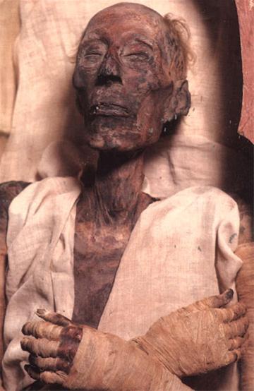 مومیایی فرعون مصری داستان موسی