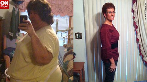 زنی که با 4 قانون ساده 125 کیلو وزن کم کرد!