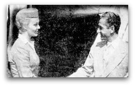 محمد رضا پهلوی و زن