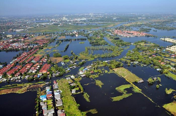 سیل در تایلند