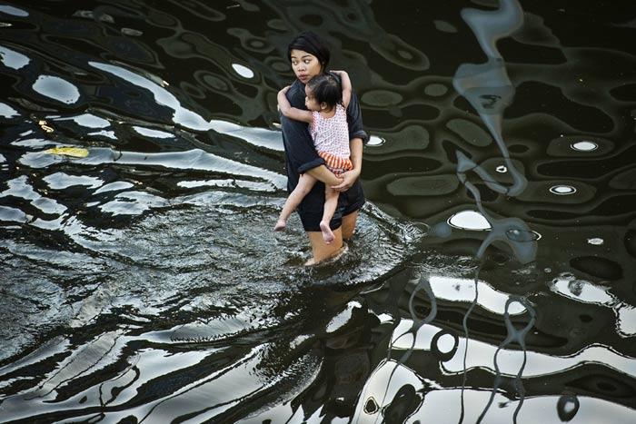 خسارت سیل تایلند