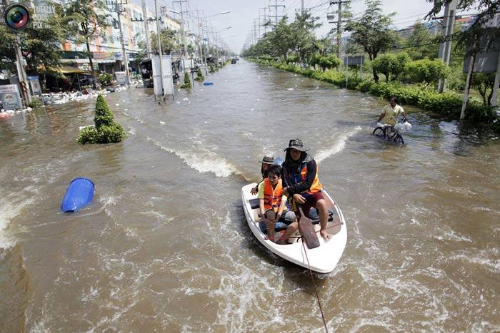 خرابی سیل در تایلند
