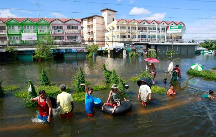 سیل تایلند 2011