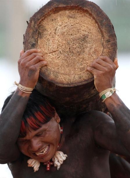 برگزاری مسابقات بازی های بومی در برزیل
