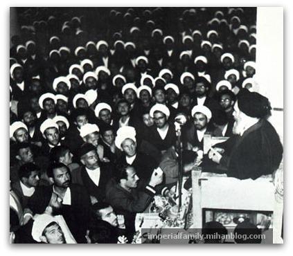 سخنرانی سید روحالله خمینی در جمع مردم قم با موضوع کاپیتولاسیون