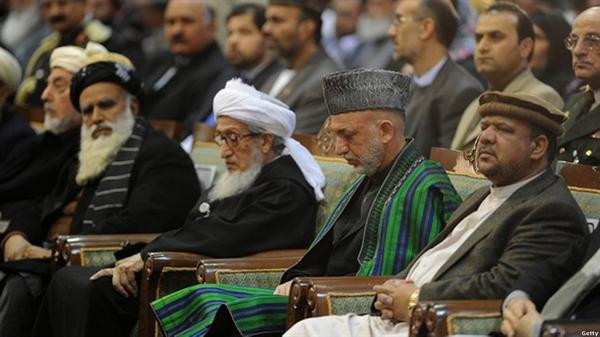 لویه جرگه افغانستان به روایت تصویر