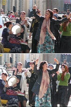 رقص و شادی ِ زنان بخارایی