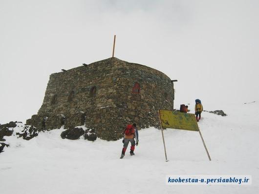 قله توچال از دربند - شیرپلا