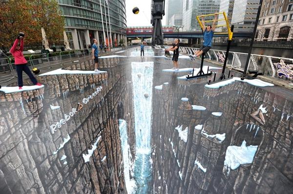 بزرگترین نقاشی سهبعدی دنیا