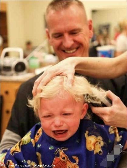 اصلاح موی بچه ها