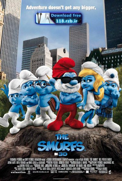 Smurfs Christmas دانلود انیمیشن The Smurfs: A Christmas Carol 2011
