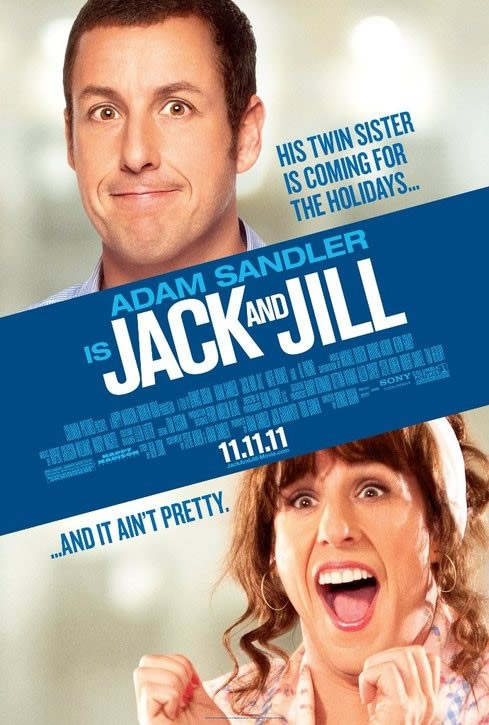 Jack And Jill 2011 TS MKV 300MB دانلود فیلم