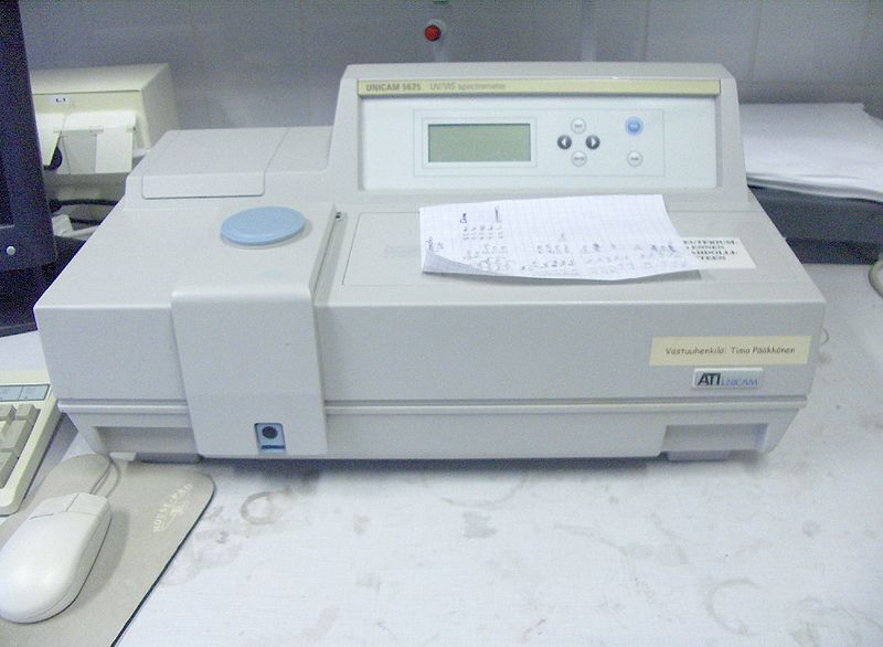 طیف سنج نوری (Spectrophotometry)