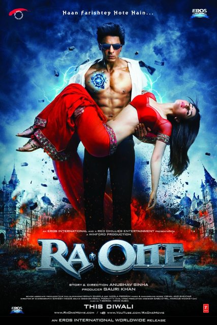 Ra One 2011 DVDRip XviD دانلود فیلم