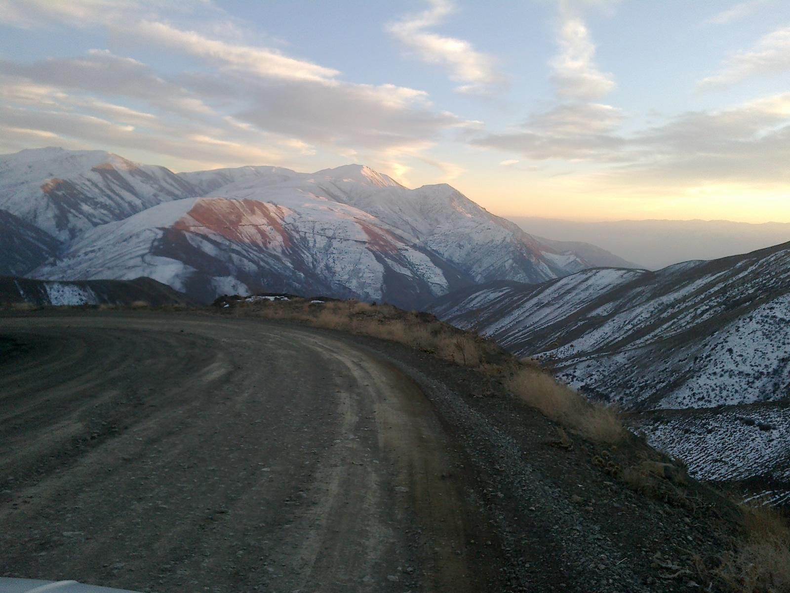 جاده روستای تیـــــــــــــــل  30 آذر1390