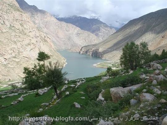 یک دره سر سبز در ولایت کابل