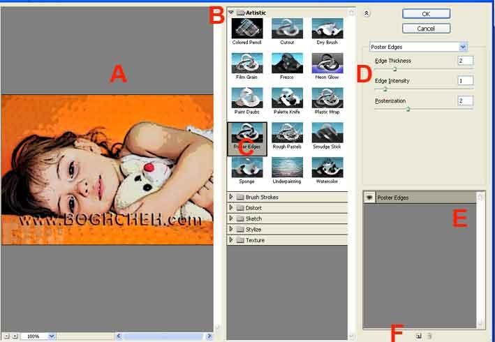 آموزش فیلترها در فتوشاپ