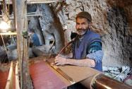 نمایی از بافت قدیمی کاگاه های عبا بافی شامل 12عکس