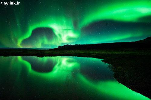 عکس زیباترین شفق قطبی سال ۲۰۱۱