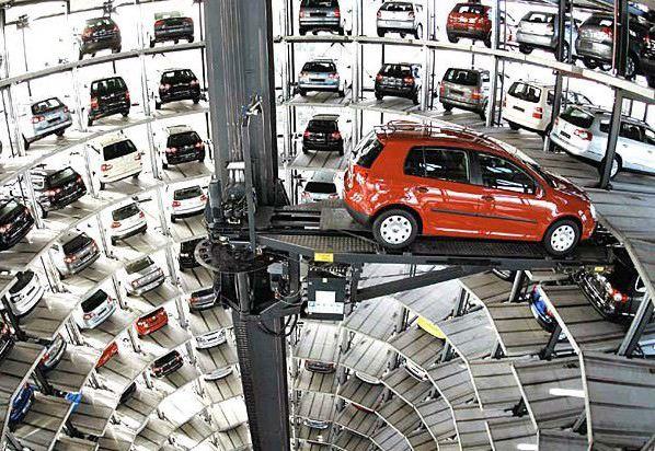 نمونه اجرای 5s در کارخانه فولکس واگن آلمان