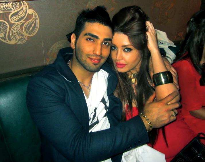 رونالدو همسرش در  بیوگرافی حسین تهی همراه عکس